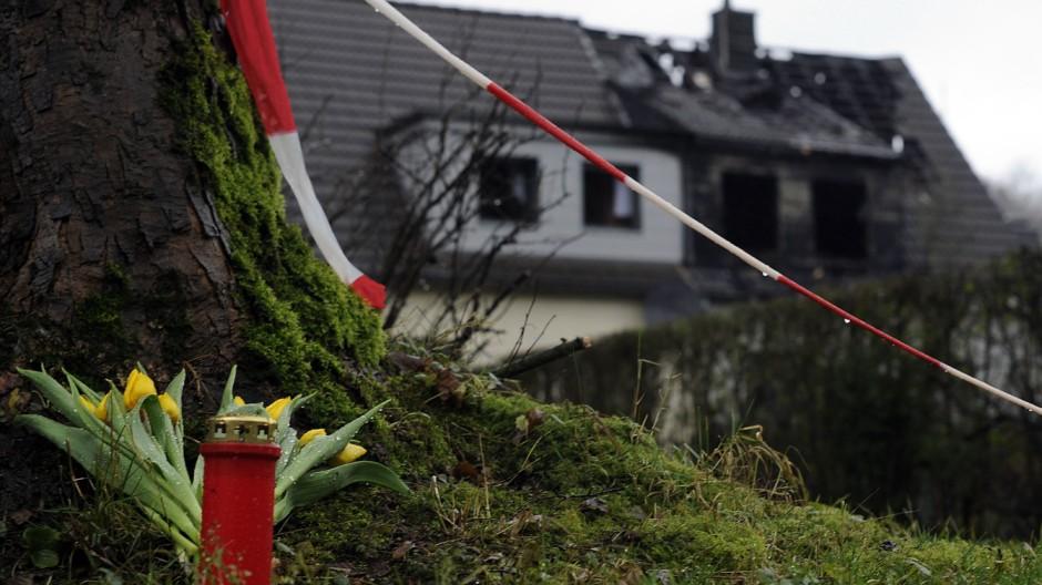 Drei Kinder sterben bei Brand in Aachen