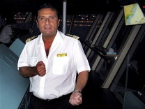 Undated file photo of Captain Francesco Schettino