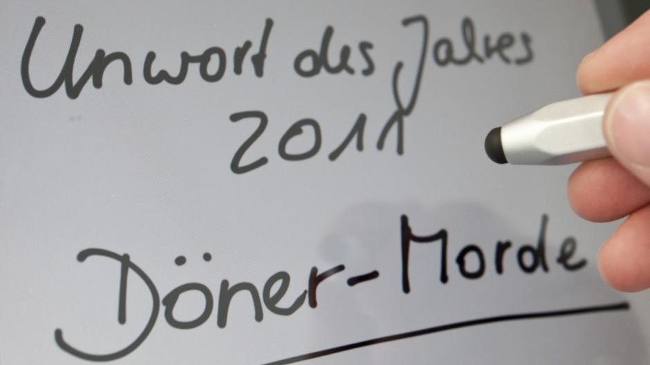 Unwort des Jahres 2011 - 'Döner-Morde'