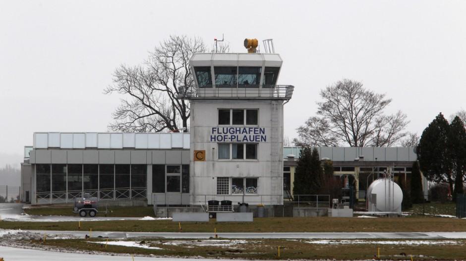 Flughafen Hof-Plauen droht die Einstellung des Linienflugverkehrs