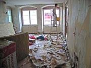 beim renovieren eines alten hauses ; Verband Privater Bauherren/Regionalbüro Lindau/dpa/tmn