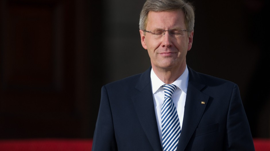 Bundespräsident Wulff  Schloss Bellevue Party-Macher Manfred Schmidt