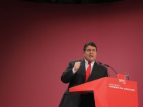 Absage an die Linke: SPD-Chef Sigmar Gabriel