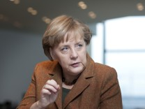Interview Angela Merkel