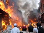 dpa, Pakistan, Anschlag, Peschawar, Clinton, Islamabad, besuch, Taliban, Waziristan