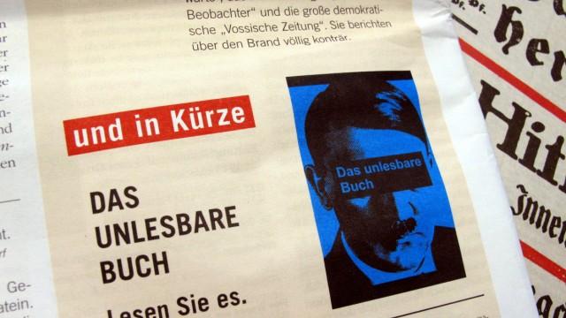 """Gericht verbietet Veröffentlichung von ´Mein Kampf"""""""