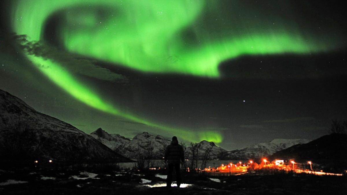 Gute Aussichten für Polarlichter über Deutschland