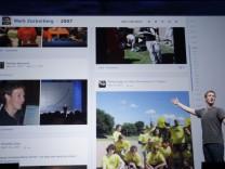 Facebook macht seine umstrittene 'Chronik' zur Pflicht