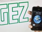 GEZ-Logo und ein iPhone