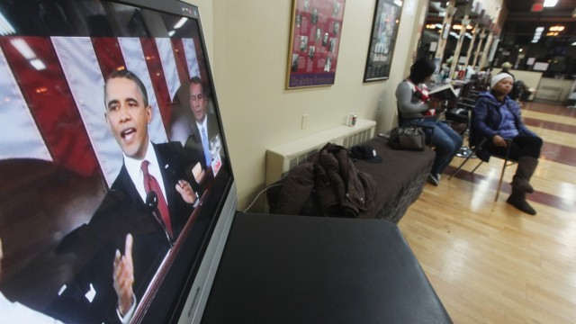 New Yorkers Watch Obama's State Of Union Address