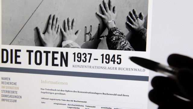 KZ-Online-Totenbuecher werden um Biografien erweitert
