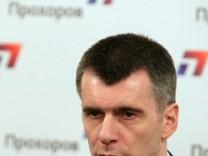 Milliardär Prochorow zur Kremlwahl zugelassen
