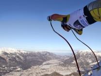 Garmisch-Partenkirchen Kandahar Abfahrt Olympiastrecke Olympia-Abfahrt