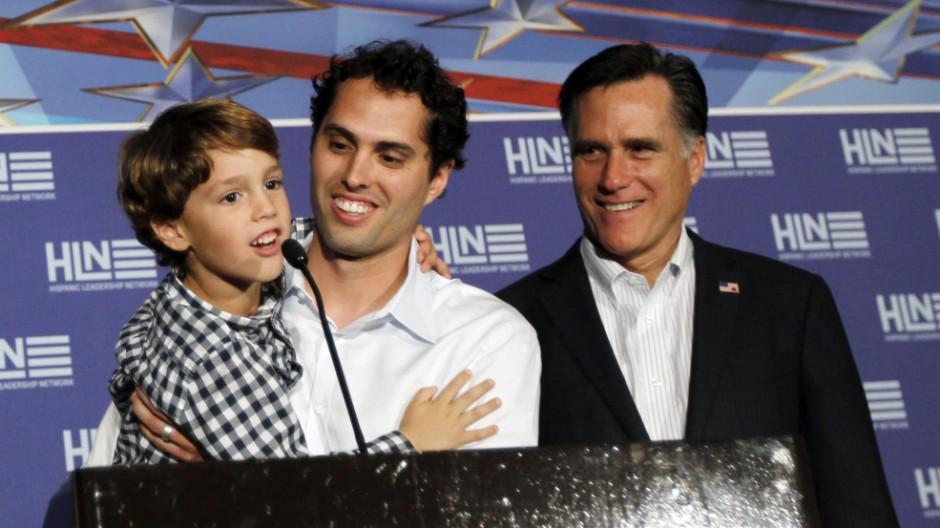 Mitt Romney, Craig Romney, Parker Romney
