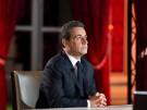 Frankreichs Präsident Nicolas Sarkozy bei einem TV-Interview in Paris