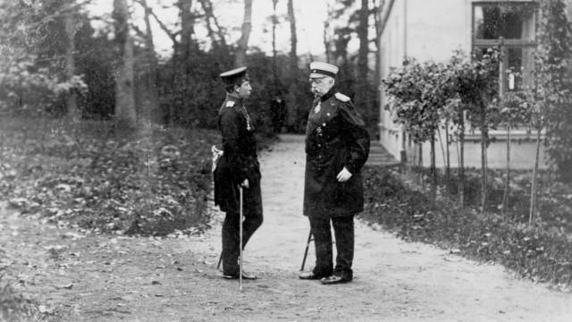 Wilhelm II. und Otto von Bismarck, 1888