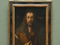Gemälde von Albrecht Dürer in der Alten Pinakothek in München, 2012