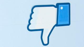 Facebook Daumen runter
