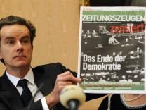 Vorschau: Zivilrechtliche Entscheidung ueber 'Zeitungszeugen'