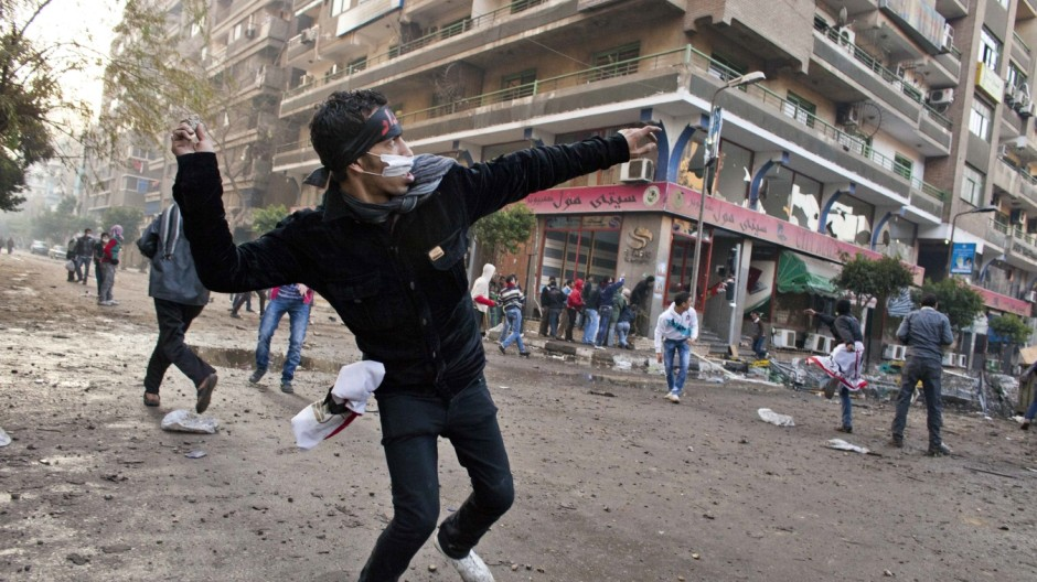 Clashes Continue In Streets Of Cairo