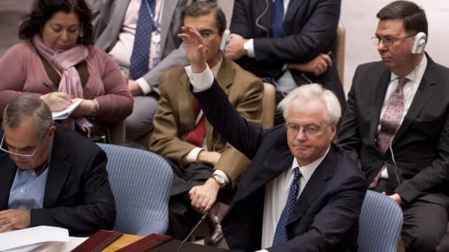 Aufstand in Syrien Veto im UN-Sicherheitsrat