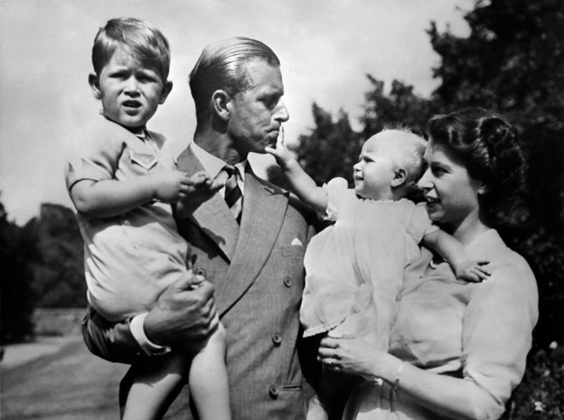 Leben Von Queen Elizabeth Ii Vier Gemeinsame Kinder Haben