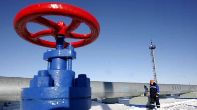Gazprom Russland Putin