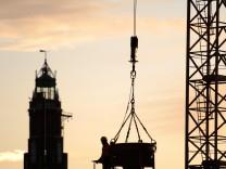 Boom in der Baubranche haelt an