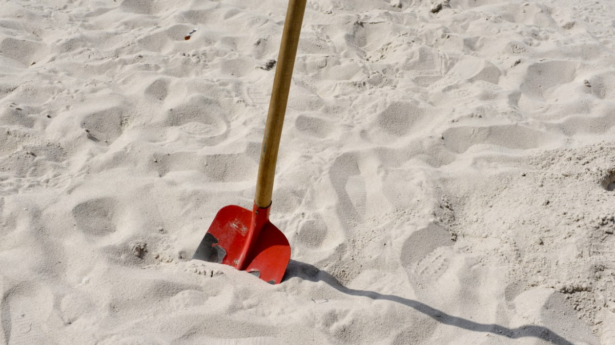Der Welt geht der Sand aus