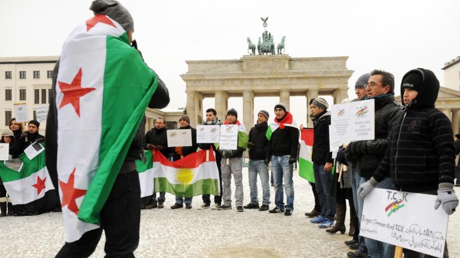Protest gegen Assad