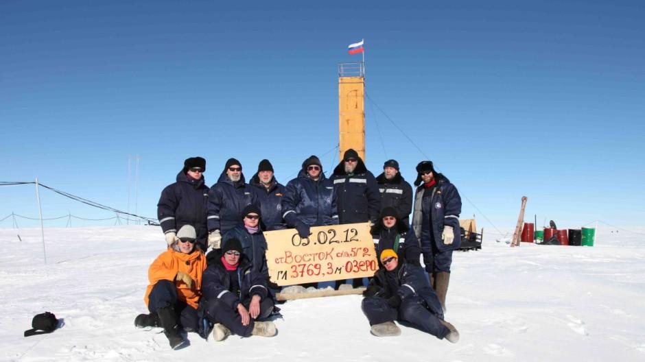 Antarktis Bohrung in der Antarktis