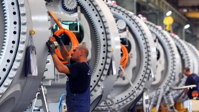 Windanlagenbauer Nordex startet Fließfertigung