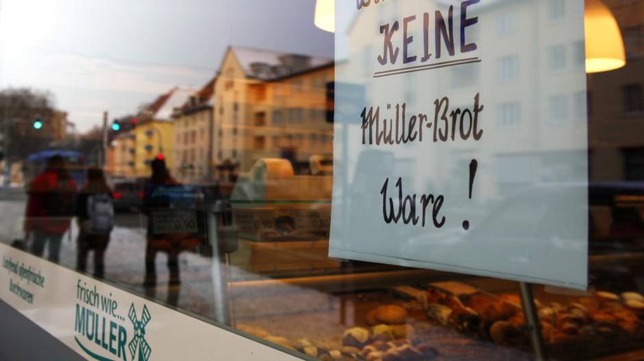Müller, Brot-Filiale in der Au, München, Carmen Wolf
