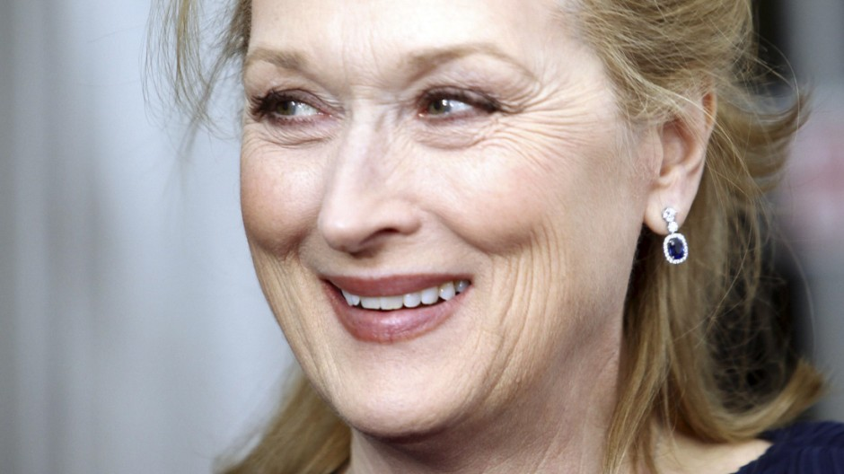 File photo of actress Meryl Streep at th premiere of her film 'The Iron Lady' in New York