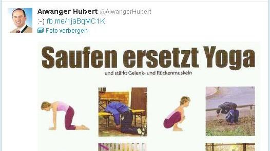 Hubert Aiwanger Twitter-Account von Freie-Wähler-Chef gelöscht