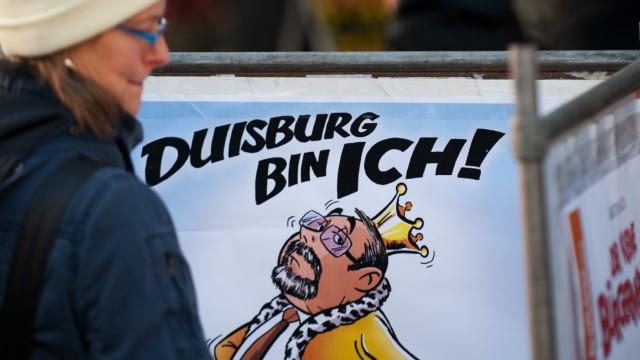 Duisburger entscheiden ueber Zukunft ihres OB