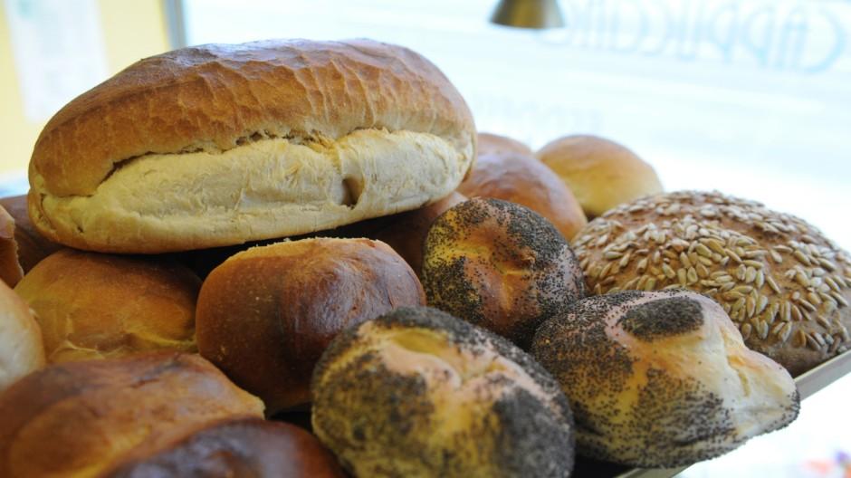 Brot und Semmeln aus der Bäckerei Artur Herrmann in München, 2012