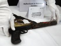 Die vom NSU für ihre Morde verwendete Waffe, eine Ceska 83 7.65mm Browning