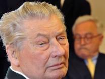 Leo Kirch und Rolf Breuer Deutsche Bank