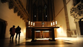 Kirche St. Paul bei Langer Nacht der Museen in München, 2010