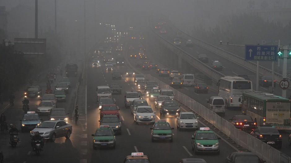 Feinstaub Luftverschmutzung