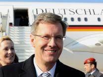 Bundespraesident Wulff zu Staatsbesuch in Italien