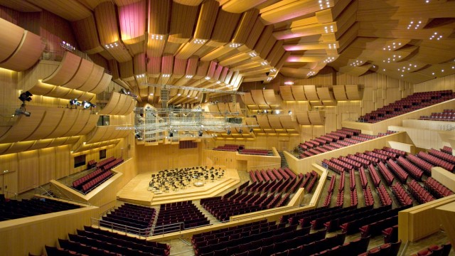 Studie zu Konzertsaal München