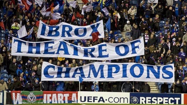 Glasgow Rangers go into administration