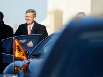 Wulff setzt Staatsbesuch in Italien fort