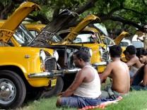 Taxi Kalkutta Indien