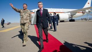 Verteidigungsminister de Maiziere besucht die USA