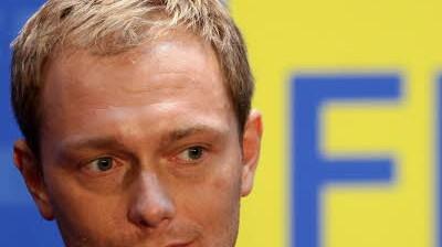Christian Lindner FDP-Generalsekretär Lindner