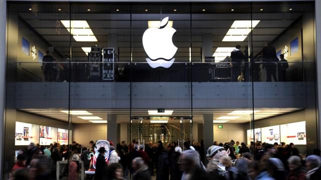 Ver.di kritisiert Arbeitsbedingungen in Apple-Stores