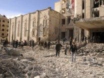 Bombenanschlag in Aleppo